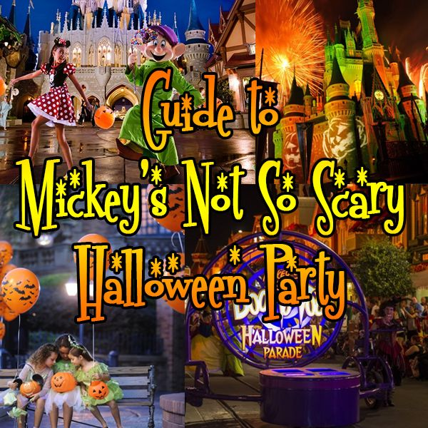 mickeys not so scary halloween party 2016 guide