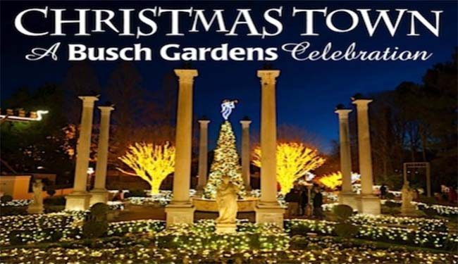 Christmas town christmas at busch gardens magical getaway blog for Busch gardens christmas town 2016