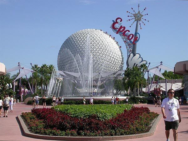 Disneys_Epcot_Spaceship_Earth_with_Name_Logo