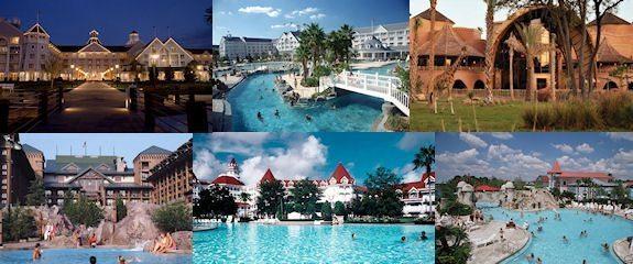 Disneyworlds Resorts Collage view 5FILrv
