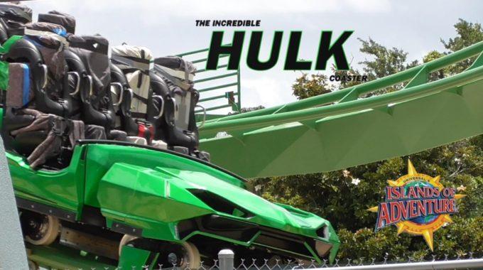 Incredible Hulk Coaster At Universal Orlando Officially Reopened!