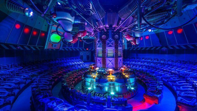 The Stitch theater has been pretty much the same since Alien Encounter opened in 1995
