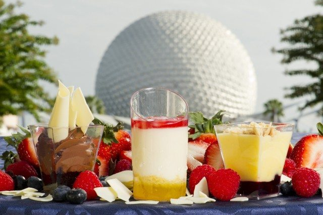 Desserts and Spaceship Earth