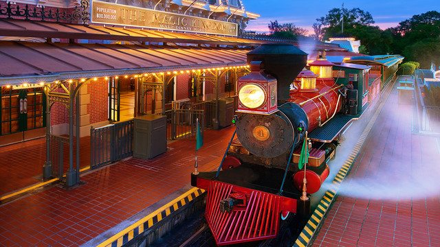Walt Disney Word Railroad Refurbishment Extended To Early 2017