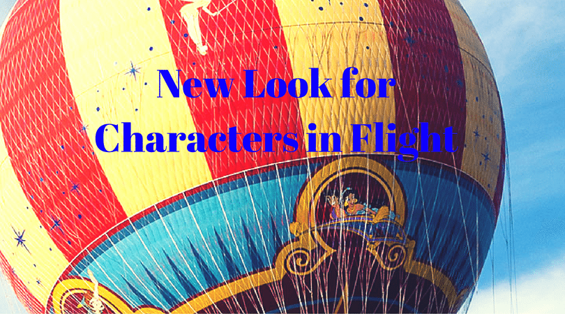 New Look For Characters In Flight