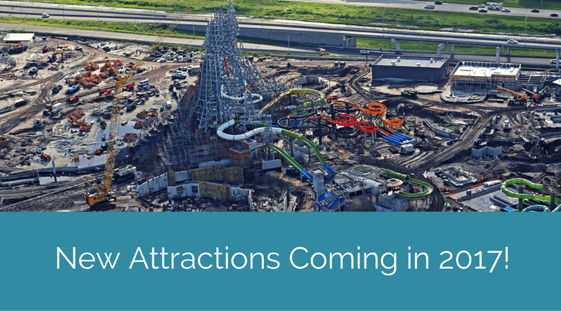 New Attractions Coming In 2017 To Orlando Theme Parks!