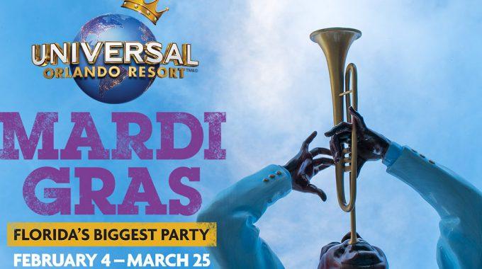 Universal Orlando Mardi Gras 2017 FB