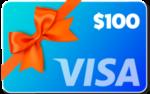 Visa-card-100-orange-bow